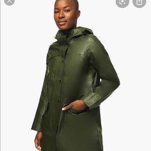 Brand new with tags Lululemon waterproof coat